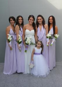 Celebrity bridal parties pictures